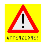 Attenzione-pericolo
